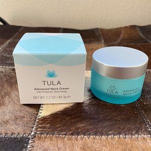 NEW Tula Advanced Neck Cream Moisturizer NIB
